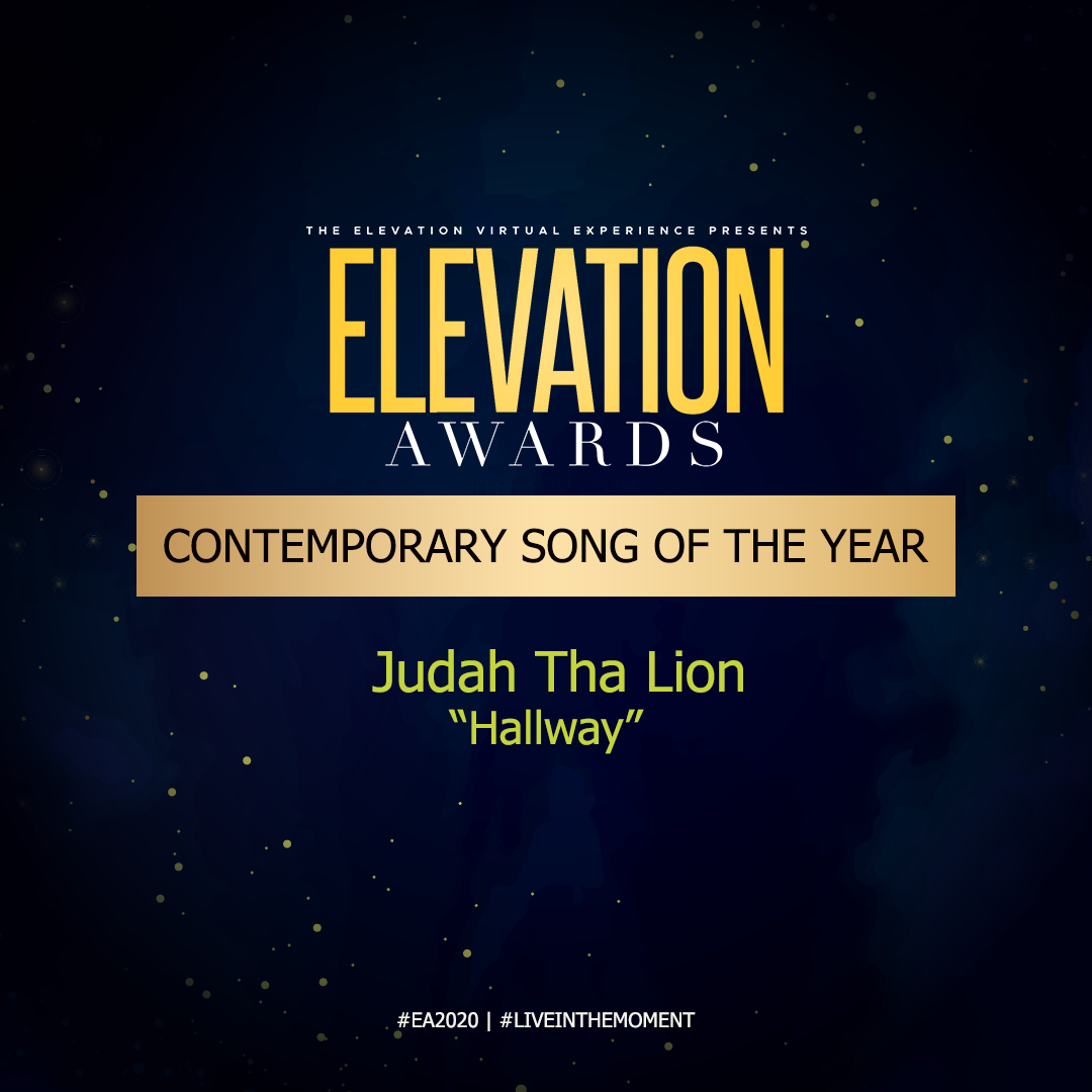 WINNER CONTEMPORARY SONG OF THE YEAR